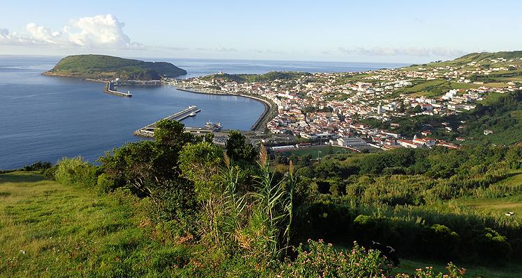 Mit der Presse auf den Azoren