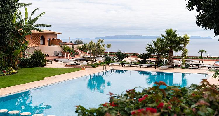 Madeira suden hotel quinta splendida wellness for Katzennetz balkon mit quinta splendida wellness botanical garden madeira